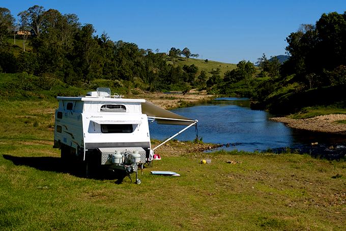 Caravan, Tent or Swag